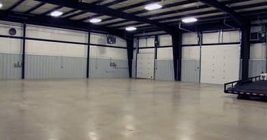 DC Norris North America's warehouse with loading dock in Traverse City