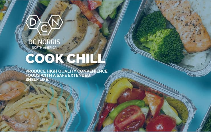 DC Norris North America will showcase their Cook Chill System in Booth #3455 at Process Expo 2019