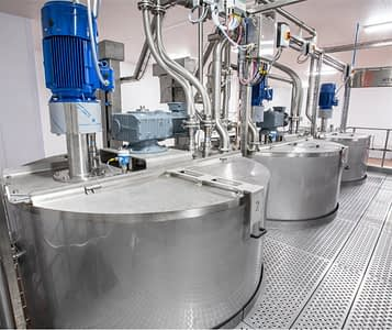 a photograph of a pet food manufacturing facility equipped with DC Norris North America's Jet Process System