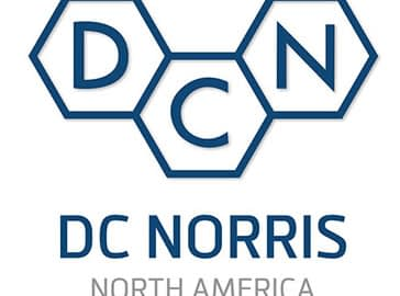 DC Norris North America logo in full color on a white background