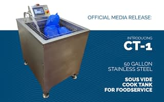 DC Norris North America launches a commercial sous vide cook tank, the CT-1