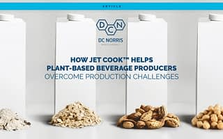 how Jet Cook™ Helps Plant-Based Beverage Producers Overcome Production Challenges