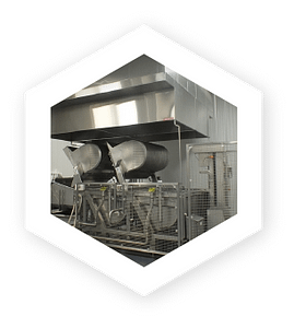 DC Norris revolutionized the industrial food processing equipment industry with the introduction and development of cook chill in the 1980's