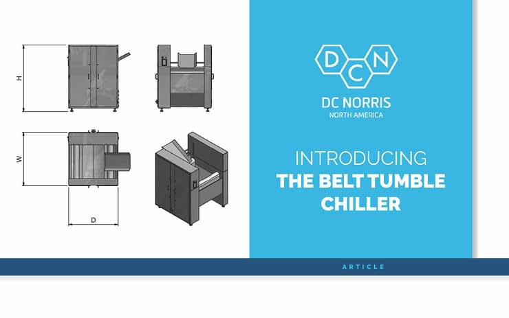 introducing the belt tumble chiller by DC Norris
