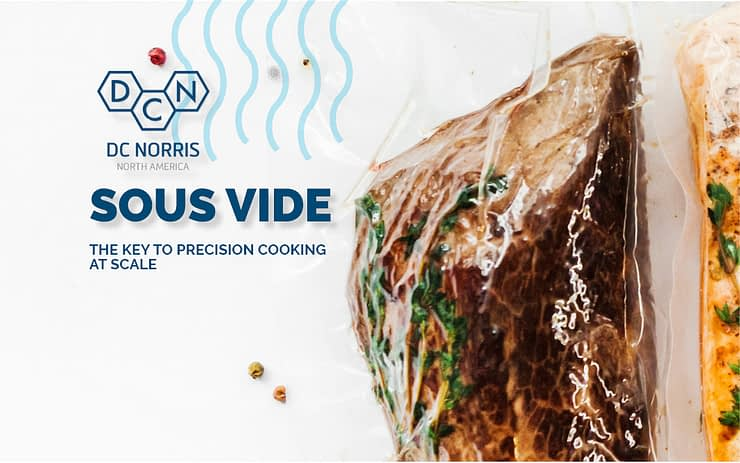 DC Norris North America will feature their Sous Vide cook tanks at Process Expo 2019