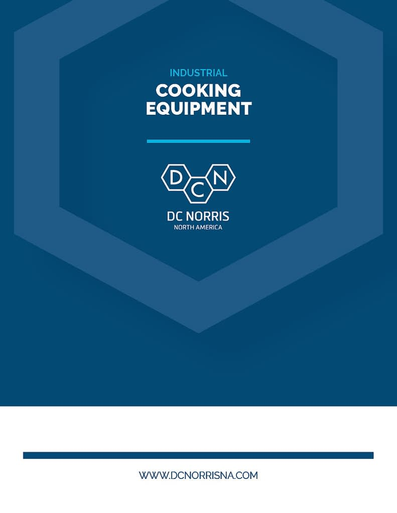 DC Norris North America Cooking Equipment Brochure Cover