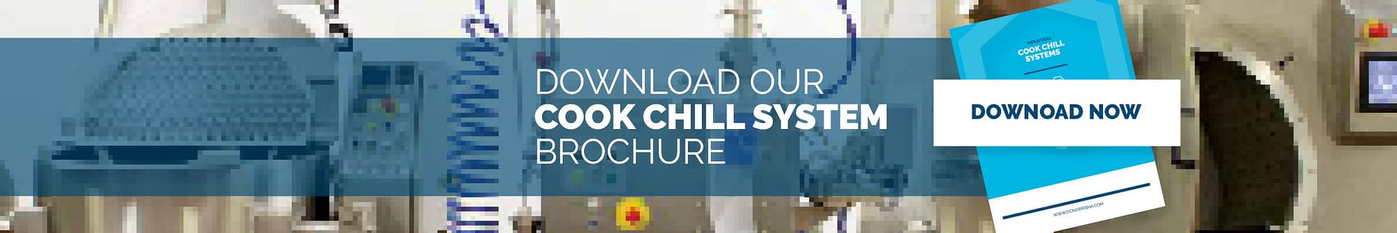 an image of the DC Norris North America industrial cook chill systems brochure