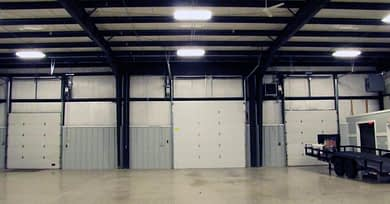 DC Norris North America's warehouse space shot from the inside