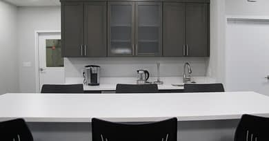 DC Norris North America's office kitchenette