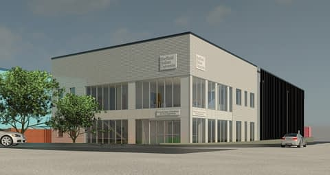 DC Norris is proud to attend the ground breaking ceremony for Sheffield Hallam University's Planned National Centre of Excellence for Food Engineering