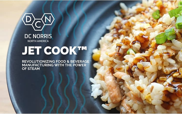 DC Norris North America brings Jet Cook™ to Process Expo 2019